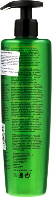 Șampon de curățare pentru păr - Orofluido Amazonia 2 Step Oil Rinse — Imagine N2