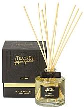 Parfumuri și produse cosmetice Difuzor aromatic - Teatro Fragranze Uniche Aroma Diffuser Sweet Vanilla