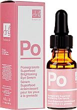 Parfumuri și produse cosmetice Ser pentru ochi - Dr Botanicals Apothecary Pomegranate Superfood Brightening Eye Serum