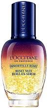 Parfumuri și produse cosmetice Elixir de noapte pentru față - L'Occitane Immortelle Overnight Reset Oil-In-Serum