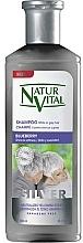 """Parfumuri și produse cosmetice Șampon pentru păr deschis și gri """"Blueberry"""" - Natur Vital Silver Shampoo"""
