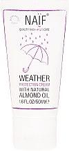 Parfumuri și produse cosmetice Cremă protectoare pentru copii - Naif Weather Protection Cream