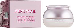 Parfumuri și produse cosmetice Cremă revitalizantă anti-îmbătrânire pentru față - Bergamo Pure Snail Wrinkle Care Cream