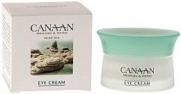 Parfumuri și produse cosmetice Cremă pentru conturul ochilor - Canaan Minerals & Herbs Eye Cream