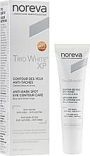 Parfumuri și produse cosmetice Cremă pentru pleoape - Noreva Laboratoires Trio White XP Anti-Dark Spot Eye Contour Care