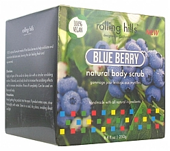 "Parfumuri și produse cosmetice Scrub pentru corp ""Blueberry"" - Rolling Hills Gommage Corps Naturel"