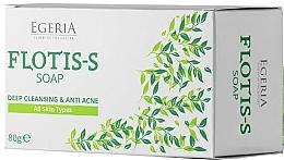 Parfumuri și produse cosmetice Săpun cu sulfat de zinc și extract de salcie - Egeria Flotis-s Soap