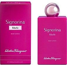 Parfumuri și produse cosmetice Salvatore Ferragamo Signorina Ribelle - Loțiune de corp