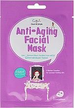 Parfumuri și produse cosmetice Mască de țesut cu efect antirid pentru față - Cettua Anti-Aging Facial Mask