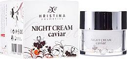 Parfumuri și produse cosmetice Cremă de noapte cu efect de întărire pentru față, cu caviar - Hristina Cosmetics Orient Caviar Night Cream