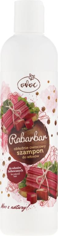 Șampon cu extract de rubarbă și fructe - Ovoc Rabarbar Szampon