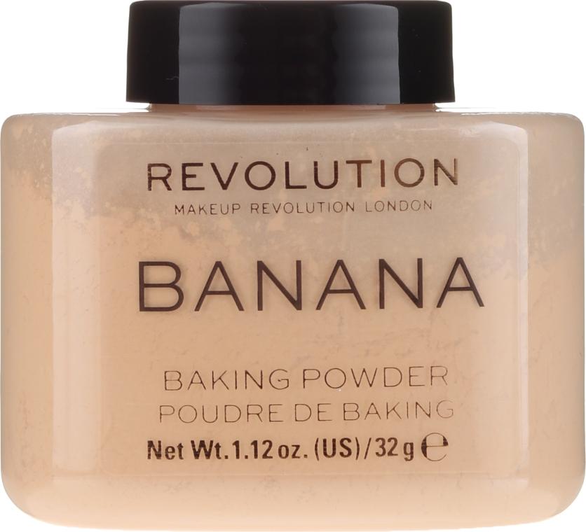 Pudră de față - Makeup Revolution Banana Baking Powder