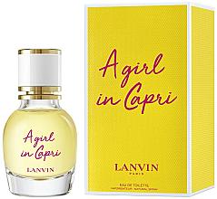 Parfumuri și produse cosmetice Lanvin A Girl in Capri - Apă de toaletă (mini)