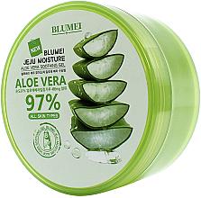 Parfumuri și produse cosmetice Gel calmant cu Aloe Vera - Blumei Jeju Moisture Aloe 97% Soothing Gel