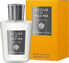 Parfumuri și produse cosmetice Acqua di Parma Colonia Pura Hair and Shower Gel - Gel de duș