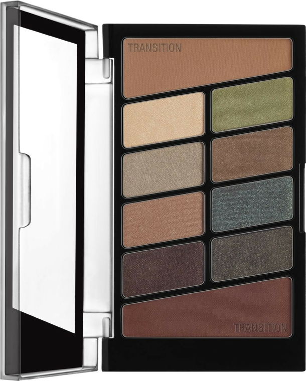 Paletă de machiaj - Wet N Wild Color Icon 10 Pan Palette — Imagine N2
