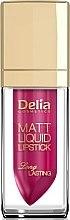 Parfumuri și produse cosmetice Ruj de buze - Delia Cosmetics Matt Liquid Lipstick