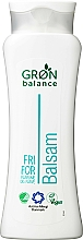 Parfumuri și produse cosmetice Balsam de păr, inodor - Gron Balance
