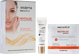 Peeling iluminant pentru față - Sesderma Sesmedical Revitalize Personal Peeling Program (cr/15ml + wipe/4x4ml) — Imagine N1