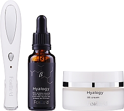 Parfumuri și produse cosmetice Set - Forlle'd Smart Face Care (f/cr/50g + f/ser/30ml + beauty device/1pc)