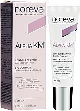 Parfumuri și produse cosmetice Cremă pentru zona ochilor - Noreva Laboratoires Alpha KM Eye Contour