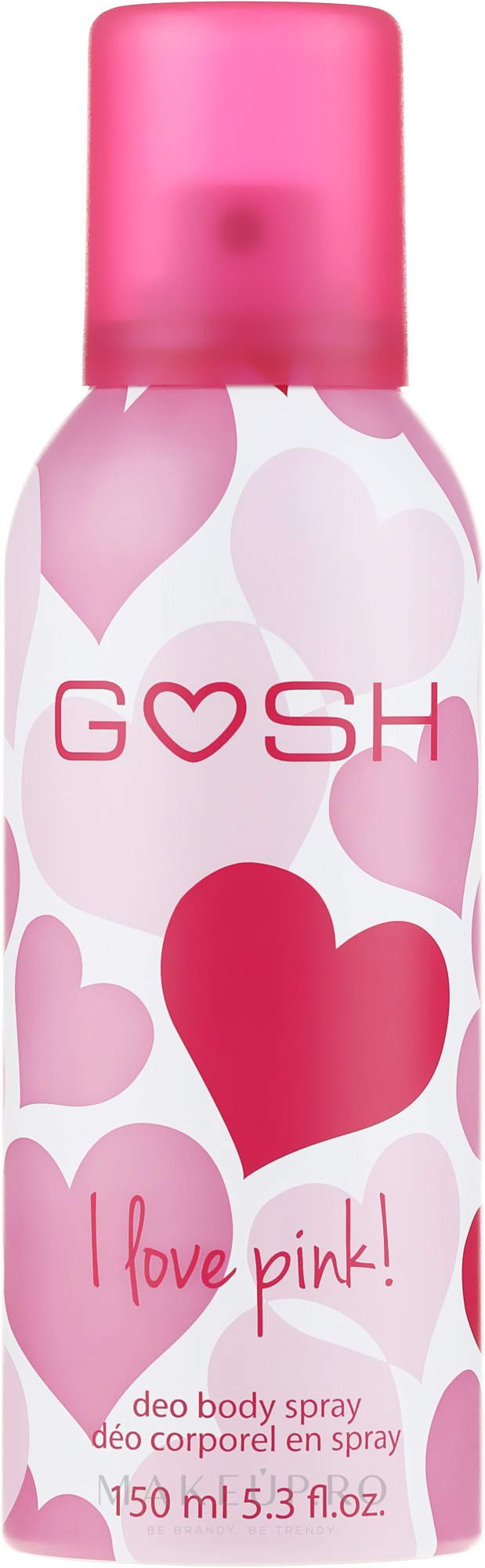 Deodorant-spray - Gosh I Love Pink Deo Body Spray — Imagine 150 ml