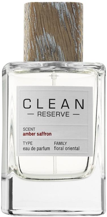 Clean Reserve Ambre Saffron - Apă de parfum — Imagine N1