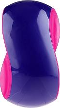 Parfumuri și produse cosmetice Perie de păr - Twish Spiky 1 Hair Brush Purple & Deep Pink