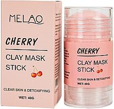"""Parfumuri și produse cosmetice Mască-stick pentru față """"Cherry"""" - Melao Cherry Clay Mask Stick"""