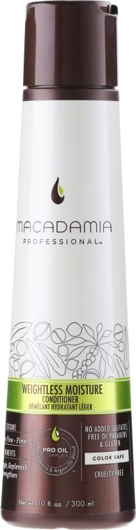Balsam pentru păr - Macadamia Professional Weightless Moisture Conditioner