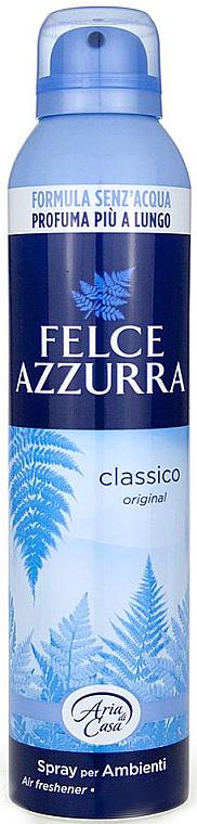 Odorizant pentru casă - Felce Azzurra Classic Talc Spray — Imagine N1