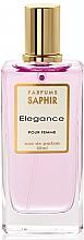Parfumuri și produse cosmetice Saphir Parfums Elegance - Apă de parfum