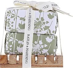 Parfumuri și produse cosmetice Set - Baylis & Harding Urban Barn Lime, Basil & Mint (soap/2x200g + acc)