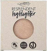 Parfumuri și produse cosmetice Highlighter - PuroBio Cosmetics Resplendent Highlighter (rezervă)