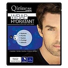 Mască hidratantă pentru bărbați - Qiriness Wrap Hydratant Moisture Purity Mask — Imagine N1