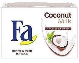 """Parfumuri și produse cosmetice Săpun cremos """"Lapte de cocos"""" - Fa Coconut Milk"""