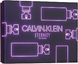 Parfumuri și produse cosmetice Calvin Klein Eternity For Woman - Set (edp/50ml + sh/gel/100ml + b/l/100ml)