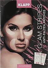Parfumuri și produse cosmetice Patch-uri pentru față - Klapp Glam Stripes Anti Wrinkle Patches
