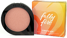 Parfumuri și produse cosmetice Fard de obraz - Folly Fire Illuminating Blush