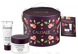 Parfumuri și produse cosmetice Set - Caudalie Vine Body Butter (balm/225ml + cr/75ml)
