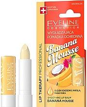 "Parfumuri și produse cosmetice Balsam de buze ""Banană"" - Eveline Cosmetics Lip Therapy Smoothing Balm Banana Mousse"