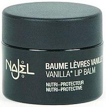 Parfumuri și produse cosmetice Balsam de buze de vanilie - Najel Vanilla Lip Balm