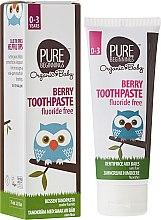 """Parfumuri și produse cosmetice Pastă de dinți pentru copii """"Pomușoare"""" - Pure Beginnings Baby Berry Toothpaste"""