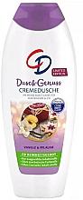 """Parfumuri și produse cosmetice Gel de duș """"Vanilie și prune"""" - CD CremeDusche"""