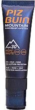 Parfumuri și produse cosmetice Balsam de buze - Piz Buin Mountain Suncream + Lipstick SPF30