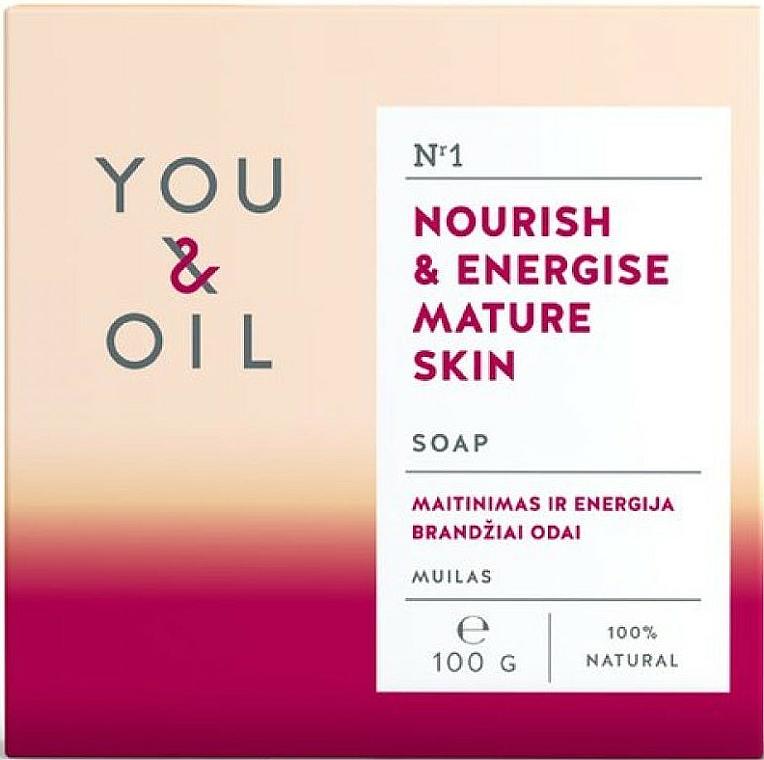 Săpun hrănitor pentru pielea matură - You & Oil Nourish & Energise Mature Skin — Imagine N1