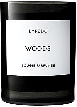 Parfumuri și produse cosmetice Byredo Woods Candle - Lumânare parfumată în suport de sticlă