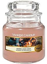 """Parfumuri și produse cosmetice Lumânare aromatică în borcan """"Căldură și Confort"""" - Yankee Candle Warm and Cosy"""