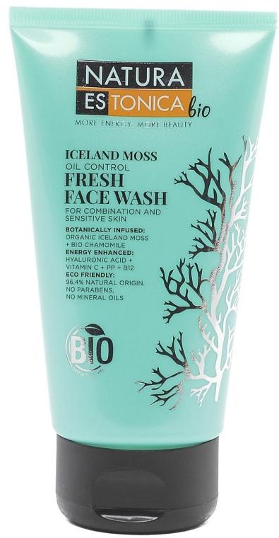 """Gel răcoritor de curățare """"Mușchi islandez"""" - Natura Estonica Iceland Moss Face Wash"""