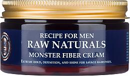 Parfumuri și produse cosmetice Cremă pentru păr - Recipe For Men RAW Naturals Monster Fiber Cream